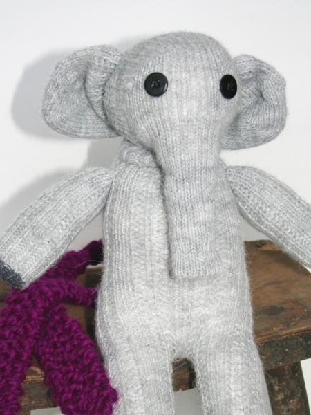 Elefant aus Socken nähen