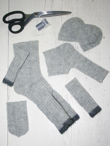 Sockenschnittmuster für Baby-Elefant