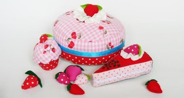 Kuchen und Torten aus Stoff