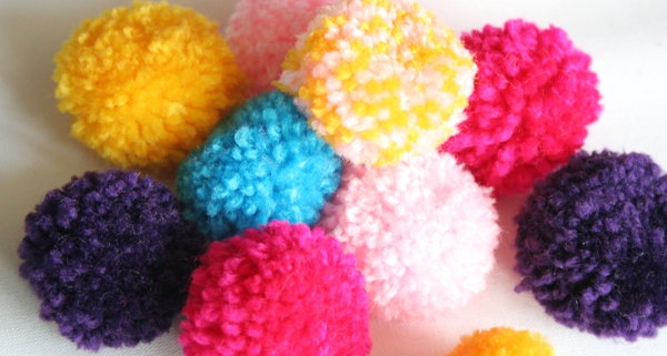 DIY Mini Bommeln / Pompoms