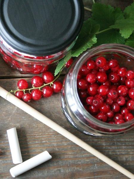 Deko für Marmeladengläser