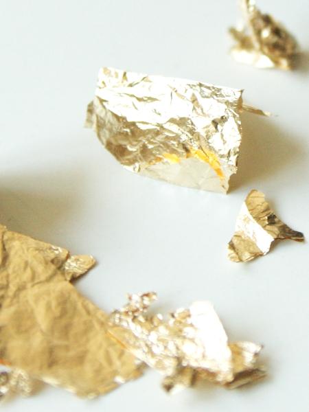 Schlagmetall gold