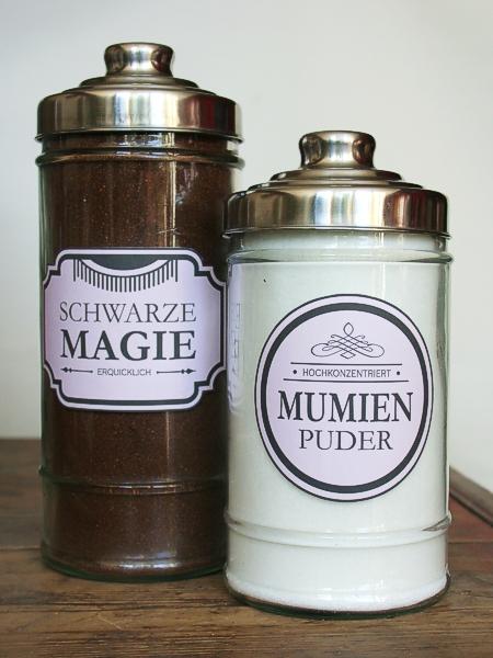 Schwarze Magie & Mumienpuder