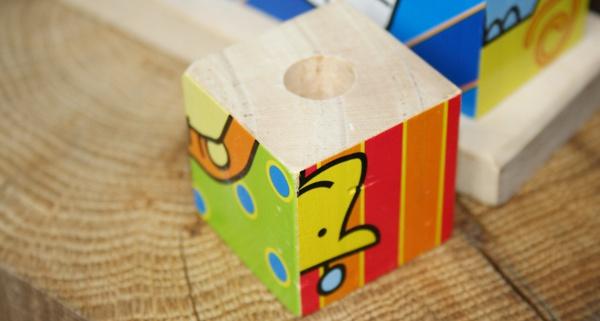 Kinderspielzeug aus Holz upcyceln