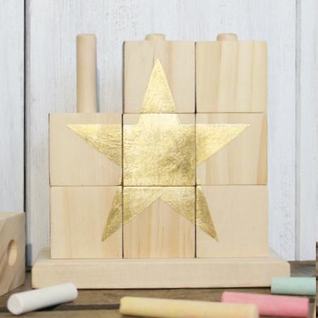Sternenpuzzel Holzspielzeug