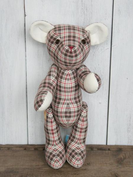 Teddy aus Stoff