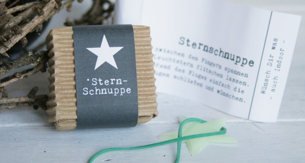 Sternschnuppen DIY : Wünschen leicht gemacht!