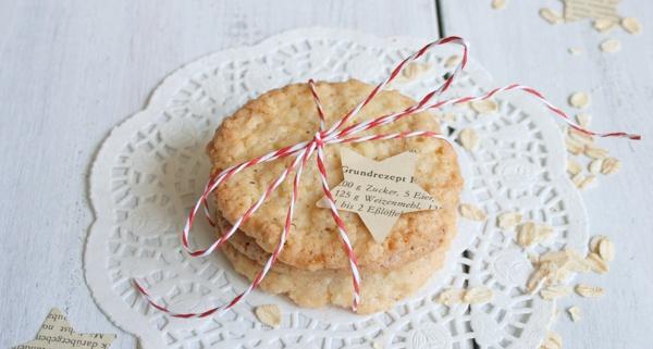 Weihnachtskekse backen Das Haferflockenkeks-Rezept