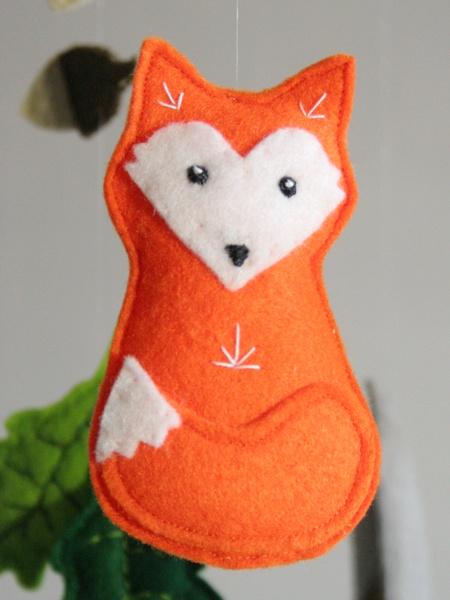 Fuchs als Wald-Mobile-Bewohner