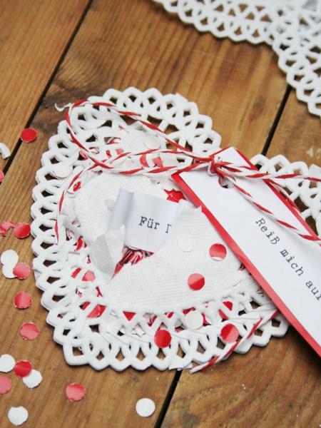 Wundertüte zu Valentinstag