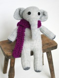 Sockentier Elefant Baby Elly