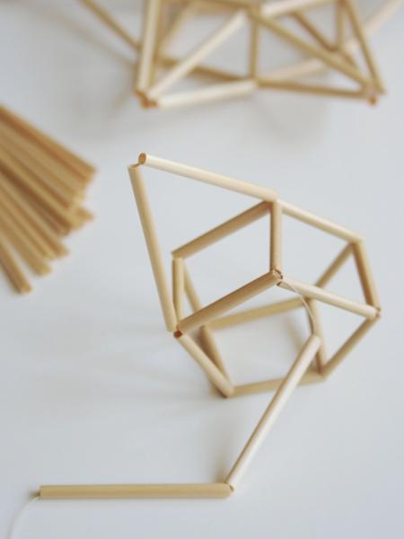 4. 2 Teile zu 1 Diagonalen.
